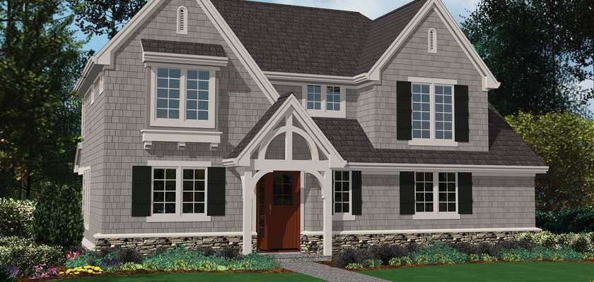 Mascord House Plan 2137BC: The Radcliff