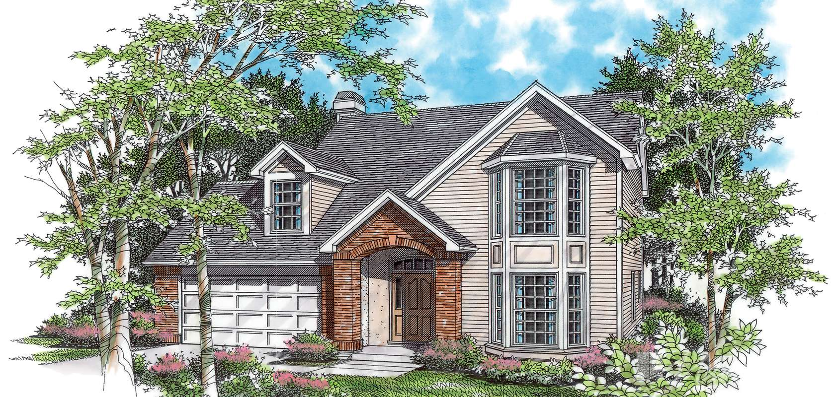 Mascord House Plan B2138: The Stayton