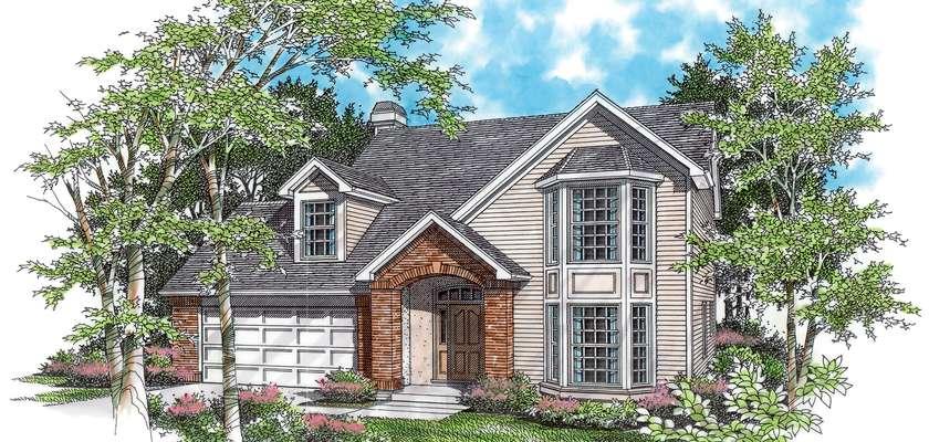 Mascord House Plan 2138: The Stayton