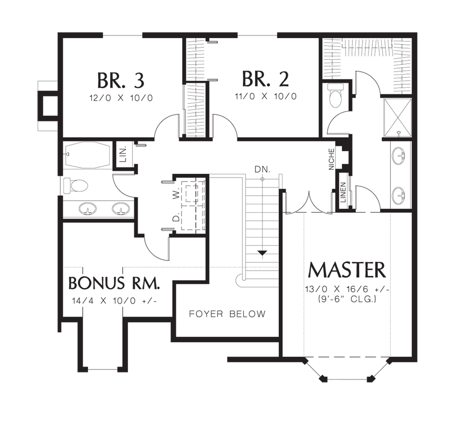 Traditional House Plan 2138 The Stayton 1815 Sqft 3 Beds 2 1 Baths