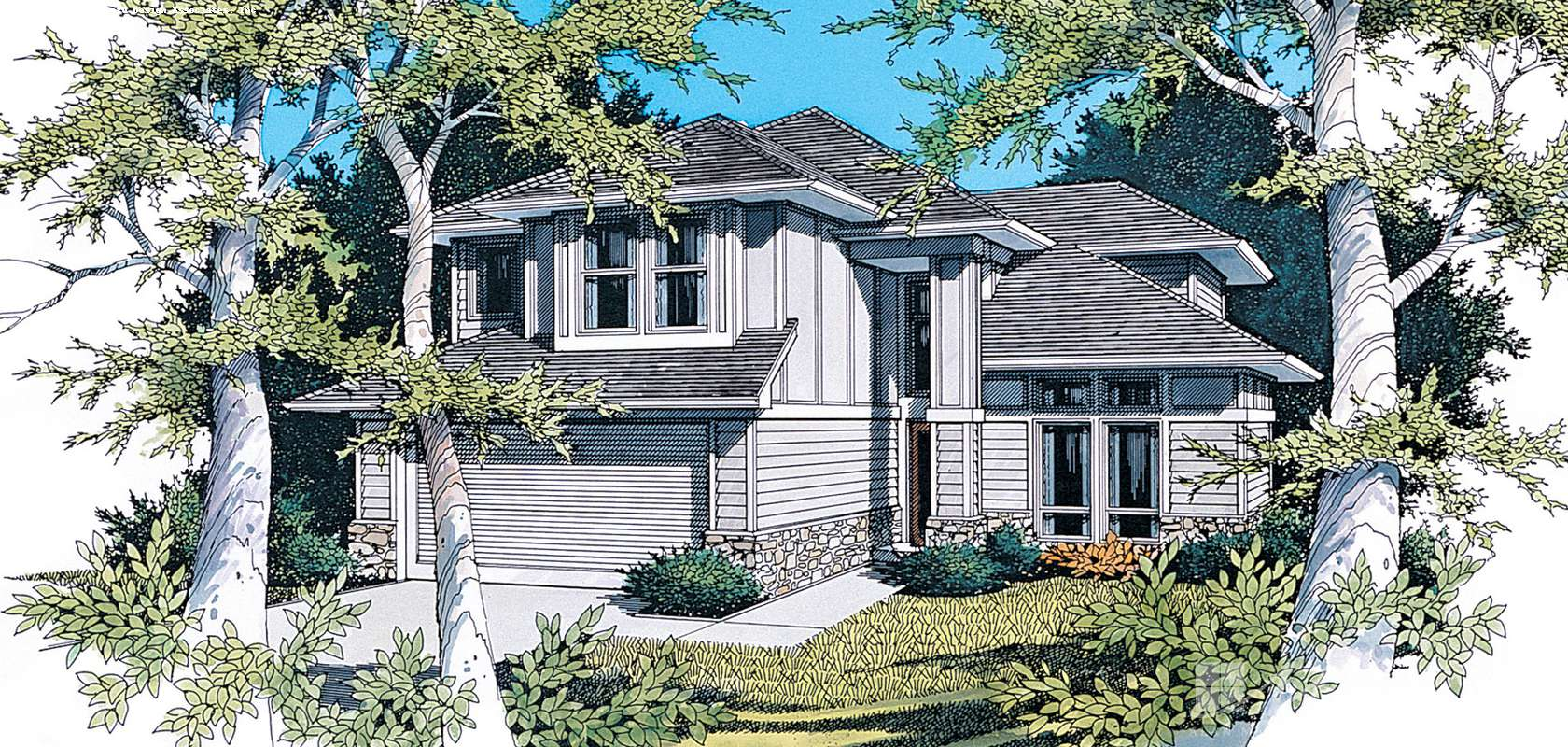 Mascord House Plan 2146F: The Quinton