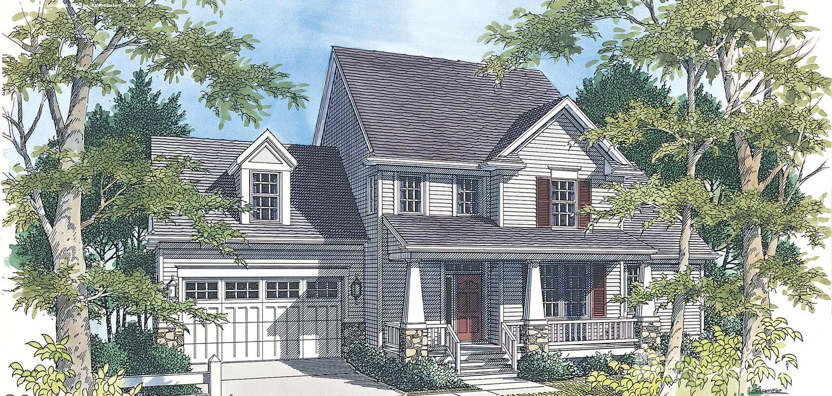 Mascord House Plan 2156: The Mannington