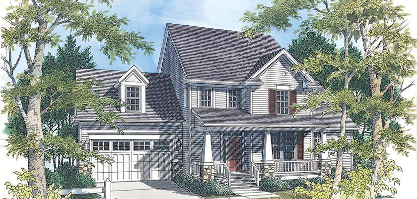 Mascord House Plan B2156: The Mannington