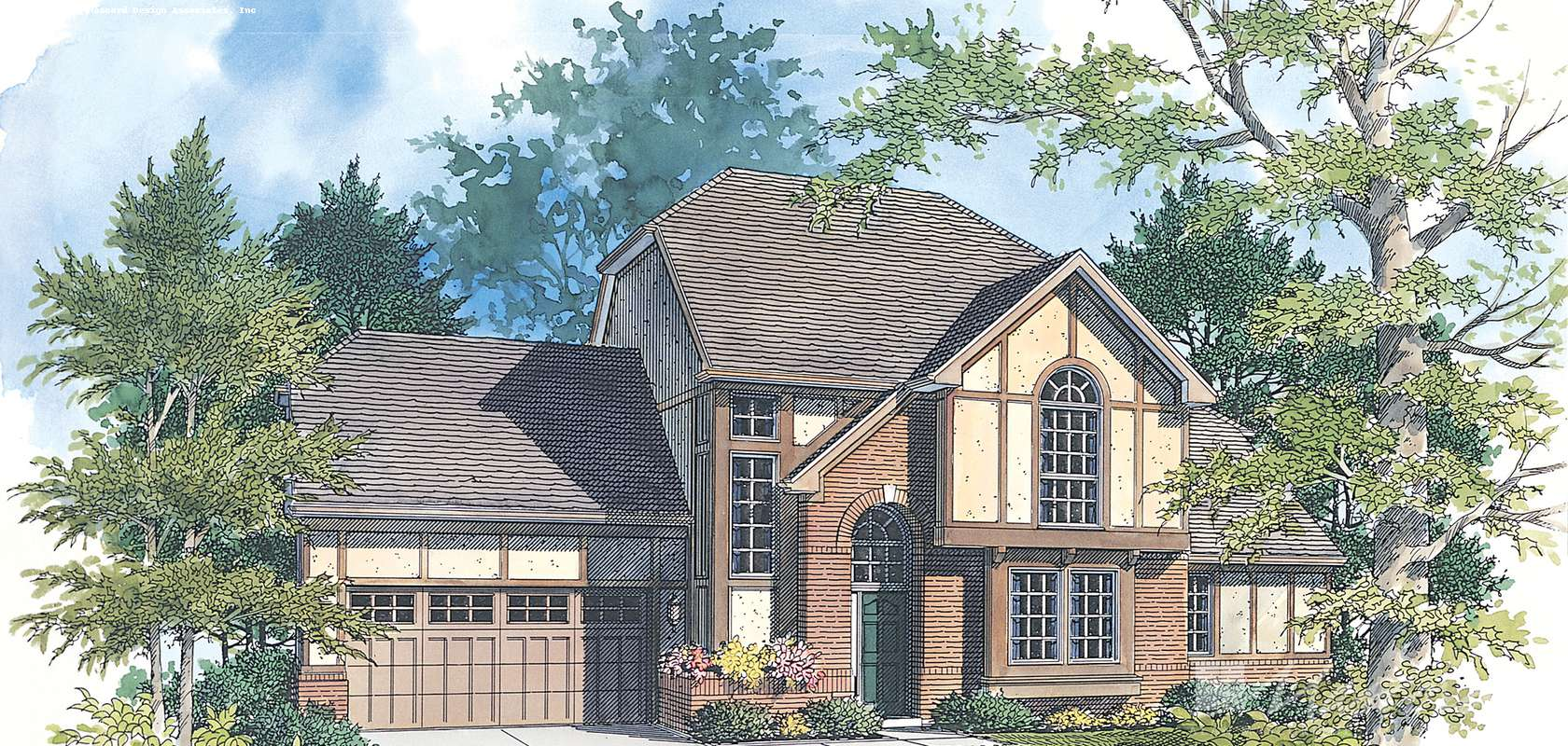 Mascord House Plan 2156A: The Winslet