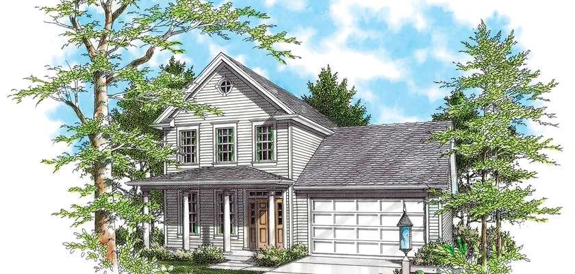 Mascord House Plan B2164: The Somersetter