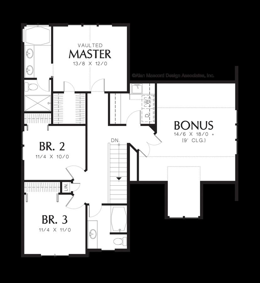 Craftsman House Plan 2164a The Malone 1943 Sqft 3