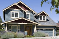 Front Exterior of Mascord House Plan 2164A - The Malone