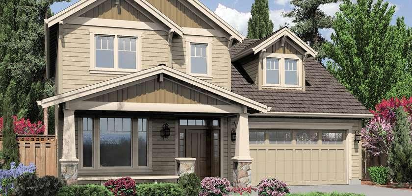Mascord House Plan B2164A: The Malone