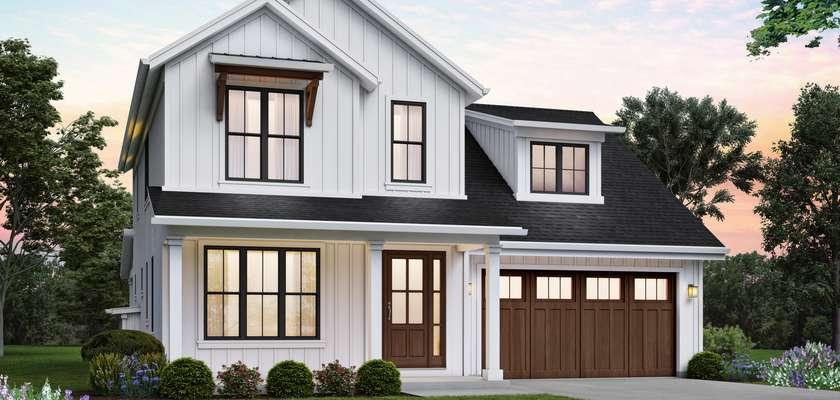 Mascord House Plan 2164F: The Mirriam