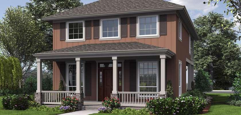 Mascord House Plan 2171B: The Cottonwood