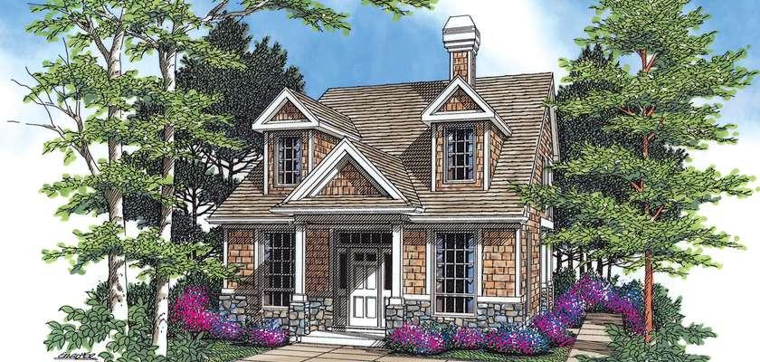 Mascord House Plan 2171C: The Greeley