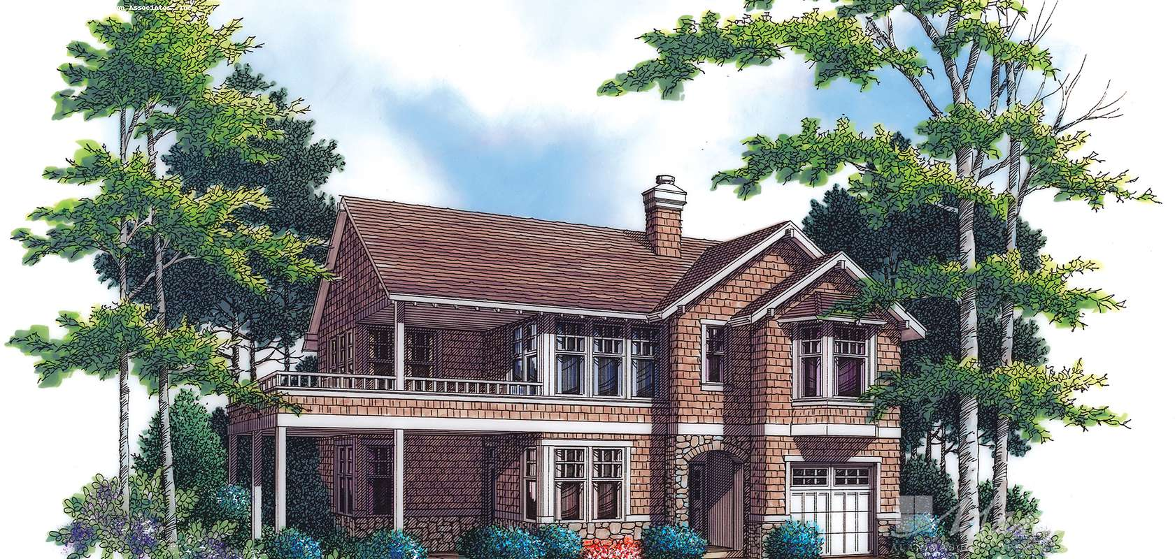Mascord House Plan 2193: The Sullivann