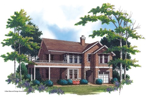 House plan 2193 the sullivann floor plan details for L shaped craftsman home plans