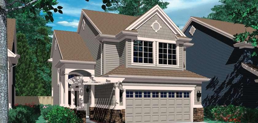 Mascord House Plan 2198: The Moraine