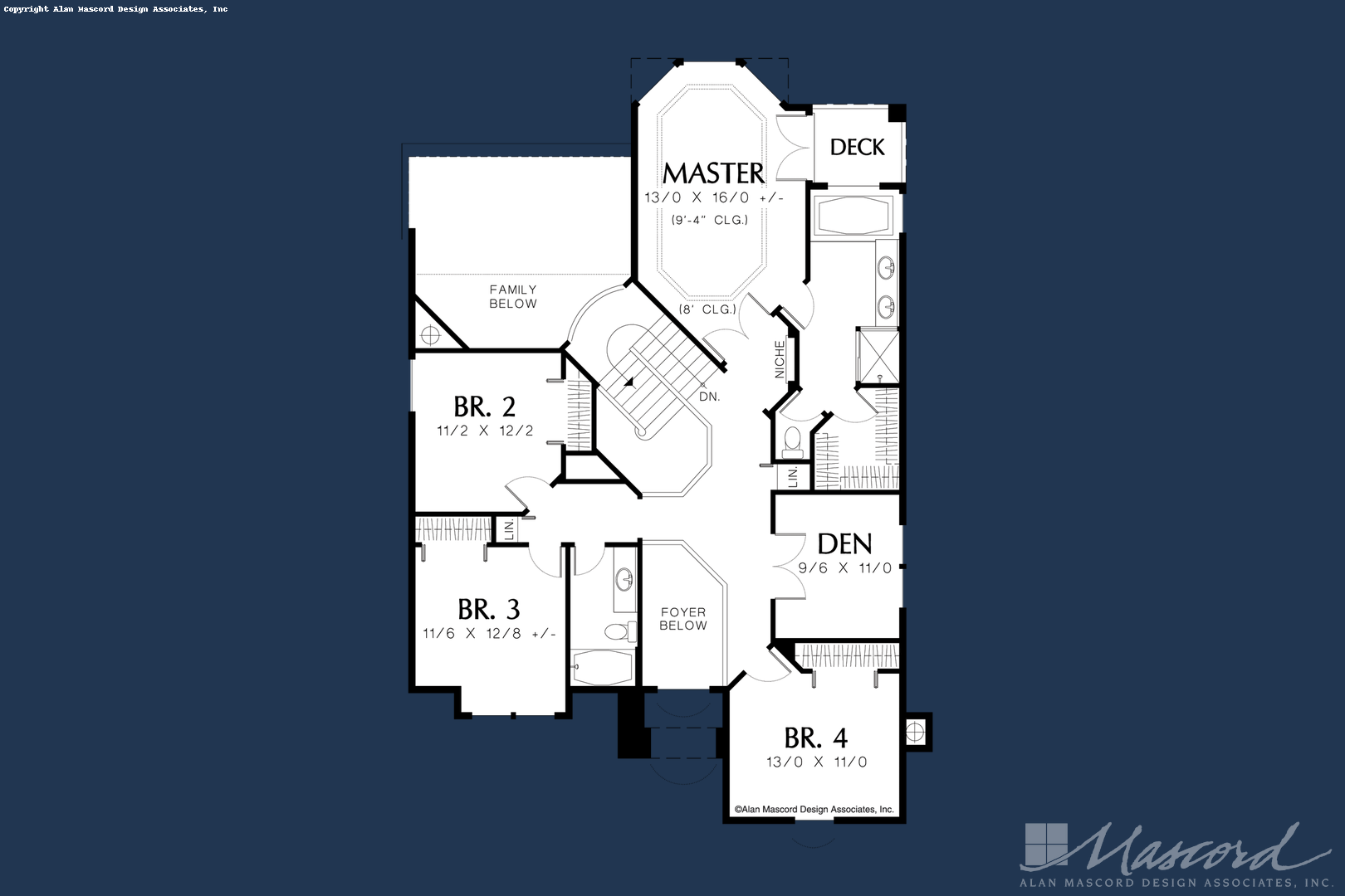 European House Plan 2201 The Barnhart 2835 Sqft 4 Beds 2 1 Baths