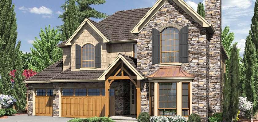 Mascord House Plan 2201J: The Maysville