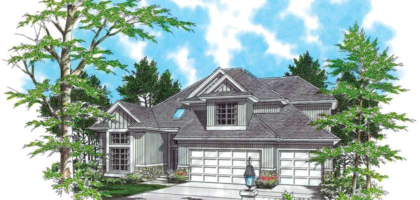 Mascord House Plan 2209: The Armstrong