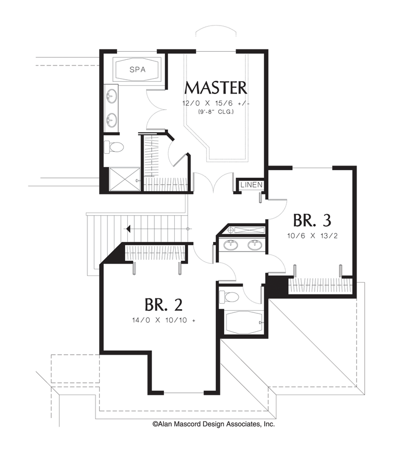 Craftsman house plan 2209 the armstrong 2200 sqft 3 for 221 armstrong floor plans