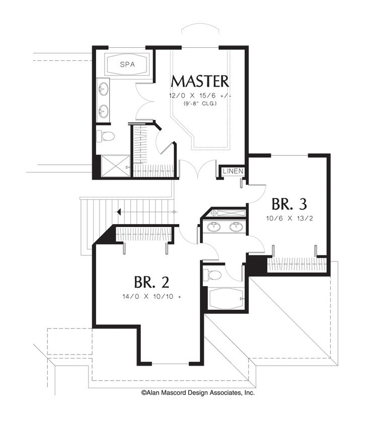 House plan 2209 the armstrong for 221 armstrong floor plans