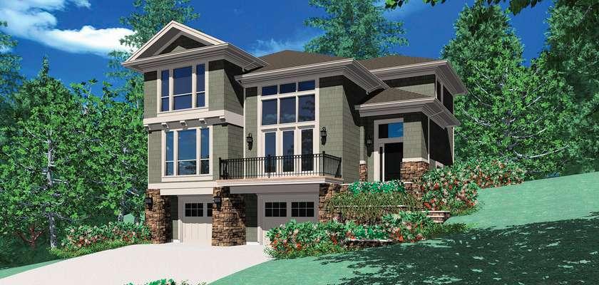 Mascord House Plan 22109: The Anson