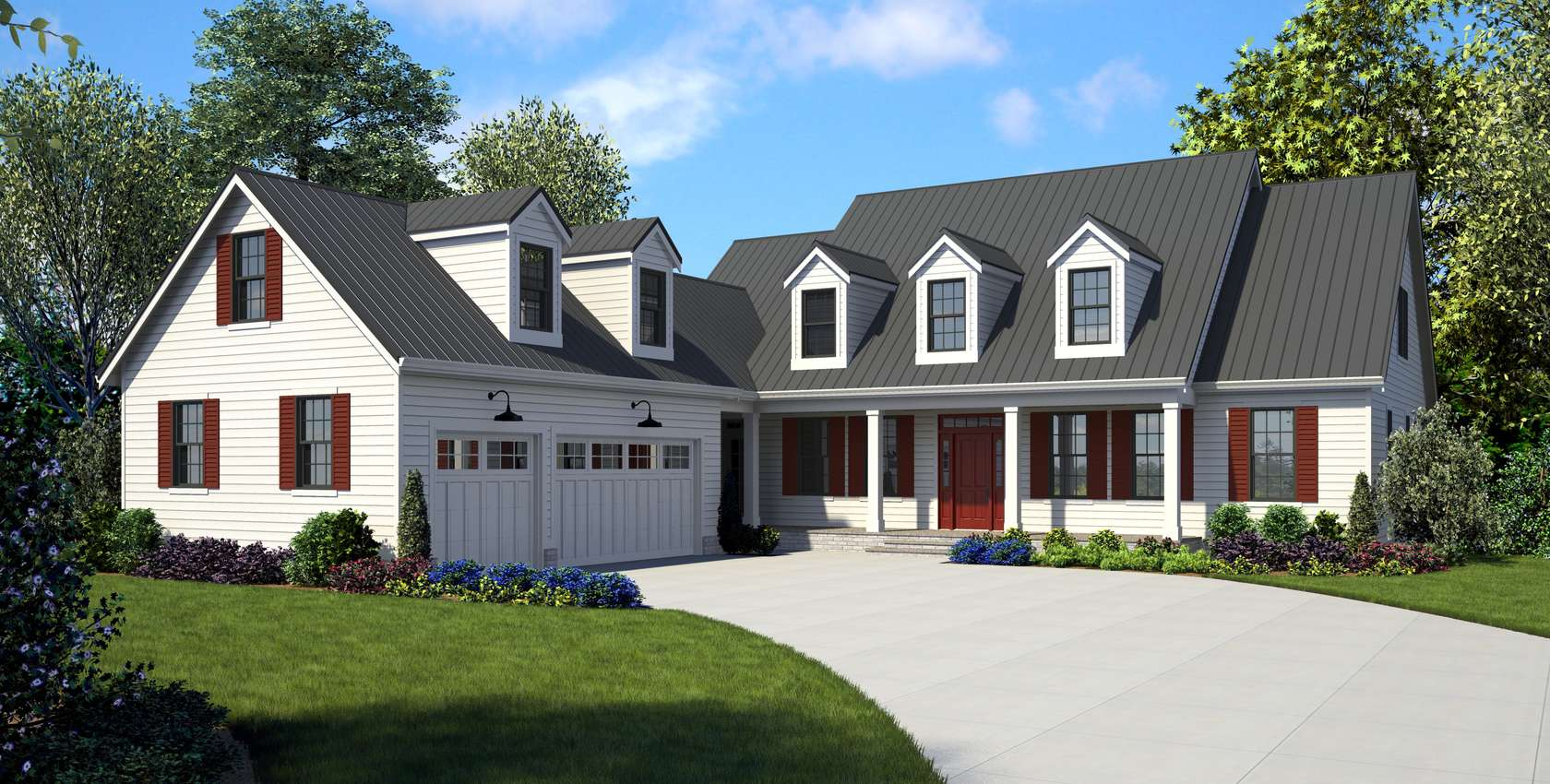 Image for Covington-Cape Cod Style Plan with His and Hers Closets-3538
