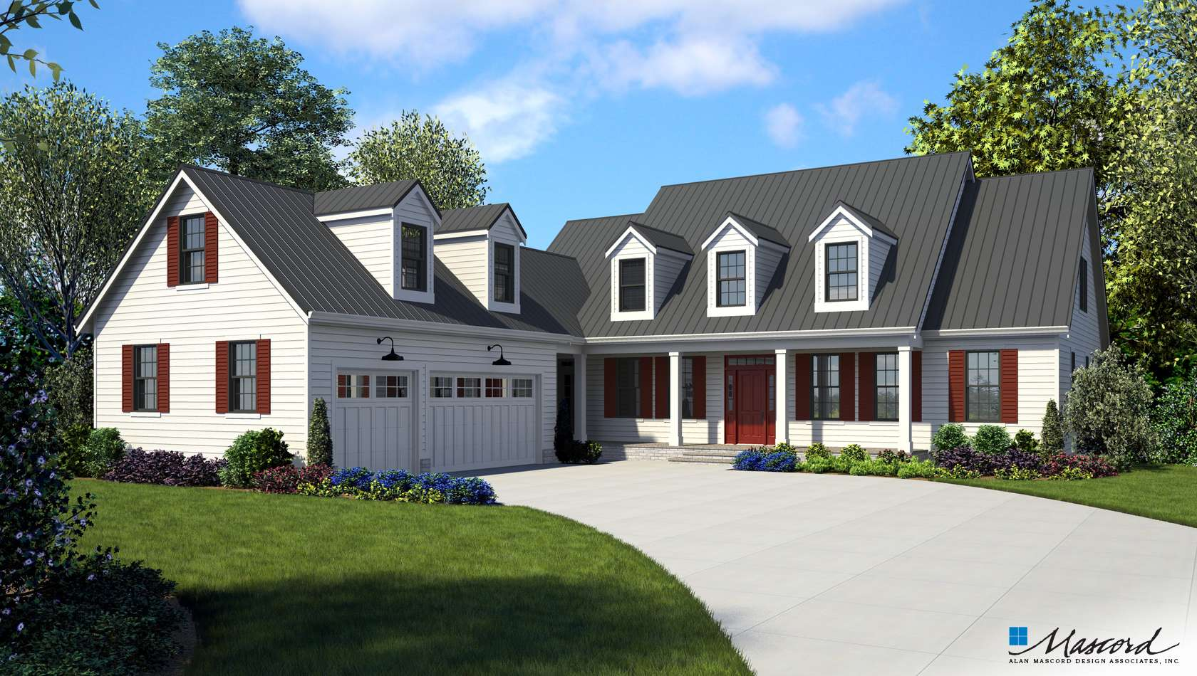 Main image for house plan 22120: The Covington