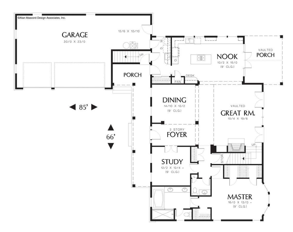 Cape Cod House Plan 22120 The Covington 2923 Sqft 4