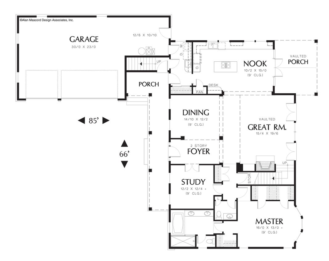 House Plan 22120 The Covington