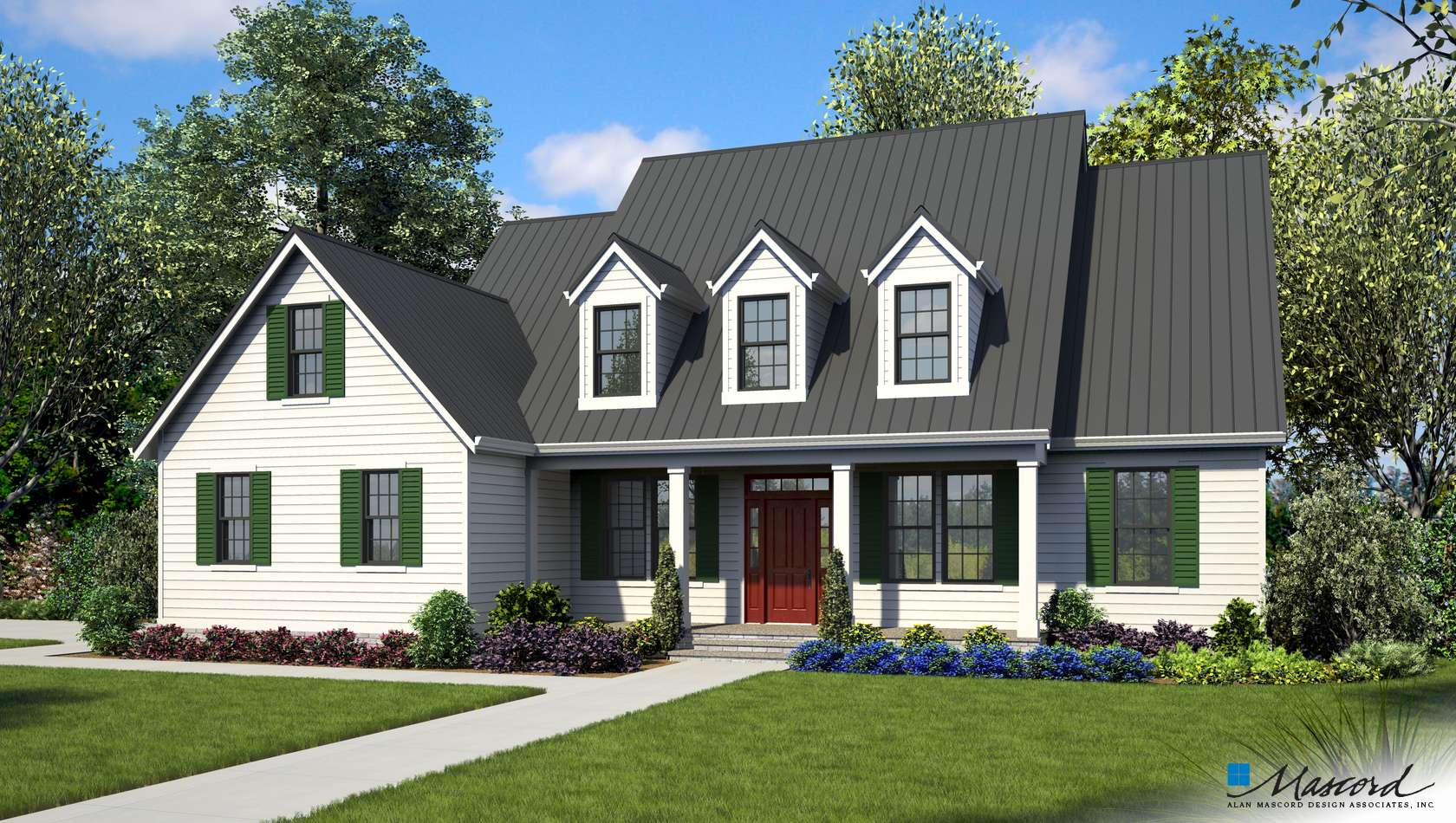 Main image for house plan 22121: The Everly