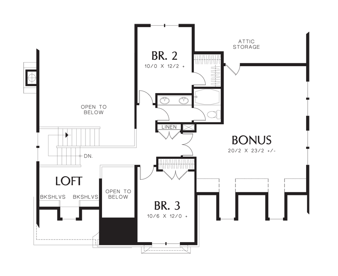 Mascord house plan 22122t the sophia for 1919 sophia floor plan