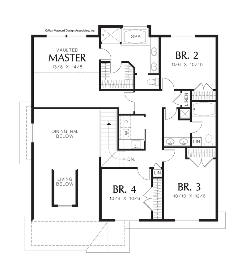 Craftsman House Plan 22125a The Brighton 2242 Sqft 4