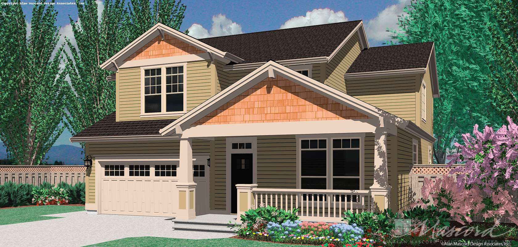 Mascord House Plan B22126A: The Ellsbecker