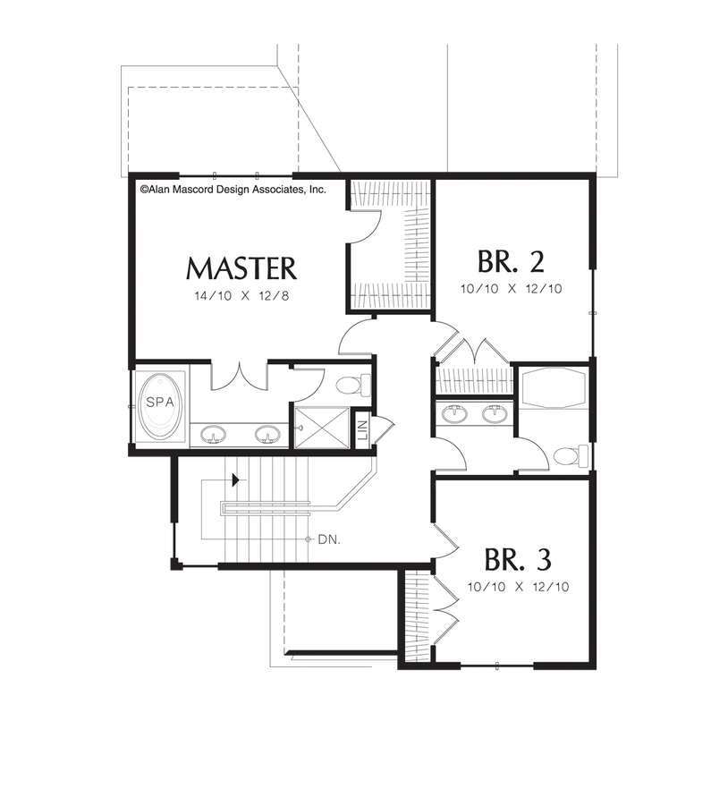 Kitchen Floor Plans With Dimensions 8 X 12 Yptzautc: Traditional House Plan 22127 The Bordeaux: 2026 Sqft, 3