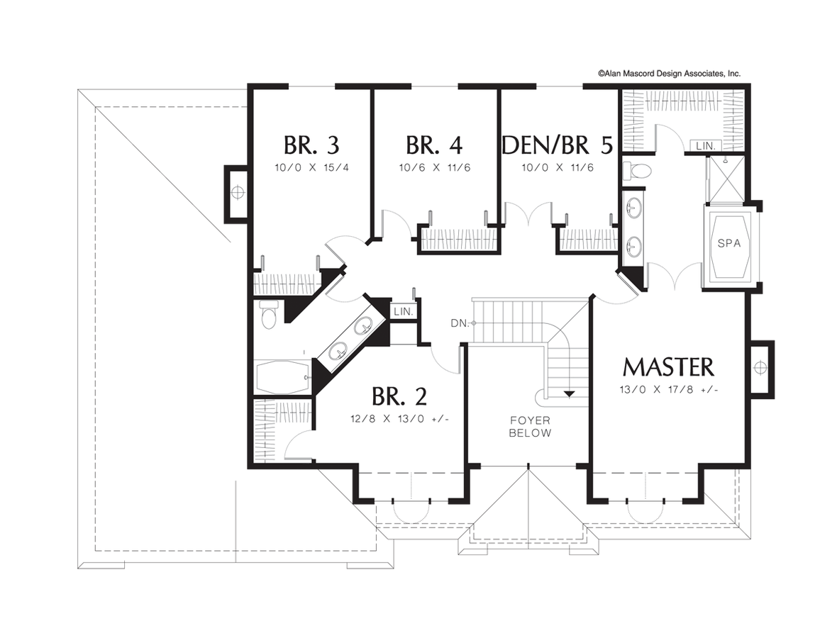 6 bedroom house plans melbourne for 6 bedroom house floor plans