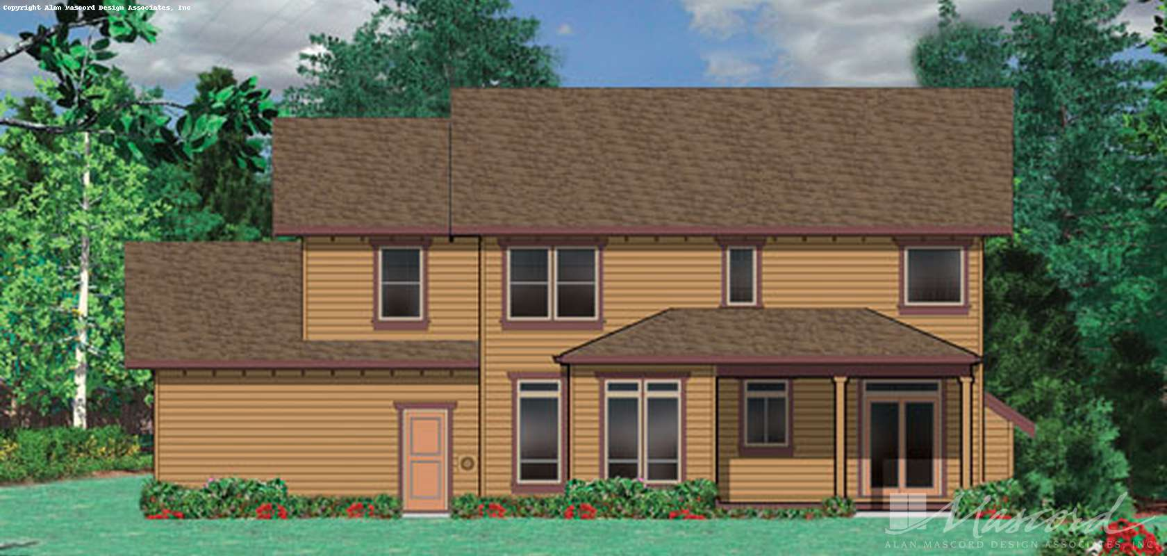 Mascord House Plan 22130: The Sorel