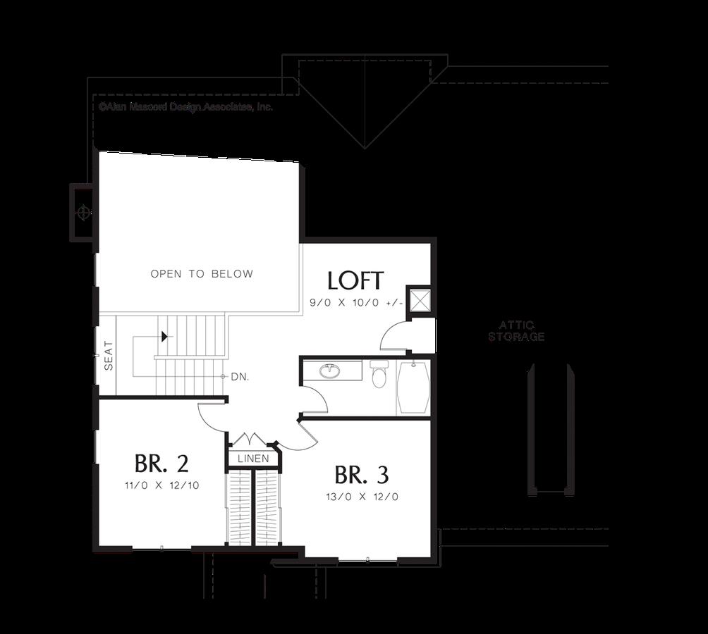 Craftsman House Plan 22133 The Norton 2300 Sqft 4