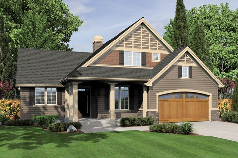 Mascord house plan 22134a the hannah for Mascord house plans
