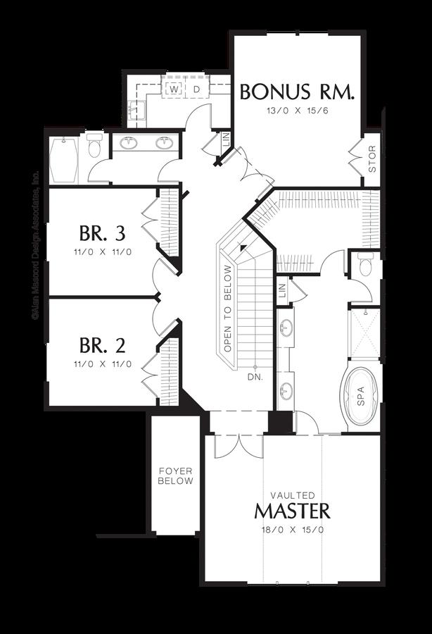 Mascord house plan 22137a the seymour for Lot plan search