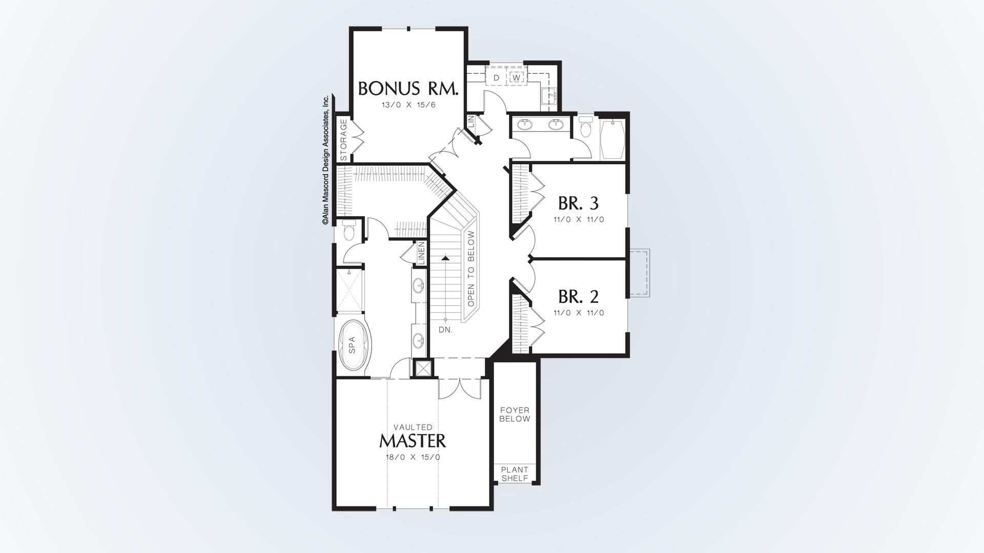Craftsman house plan 22137b the webster 2533 sqft 3 beds for Flow wall 48 bonus set