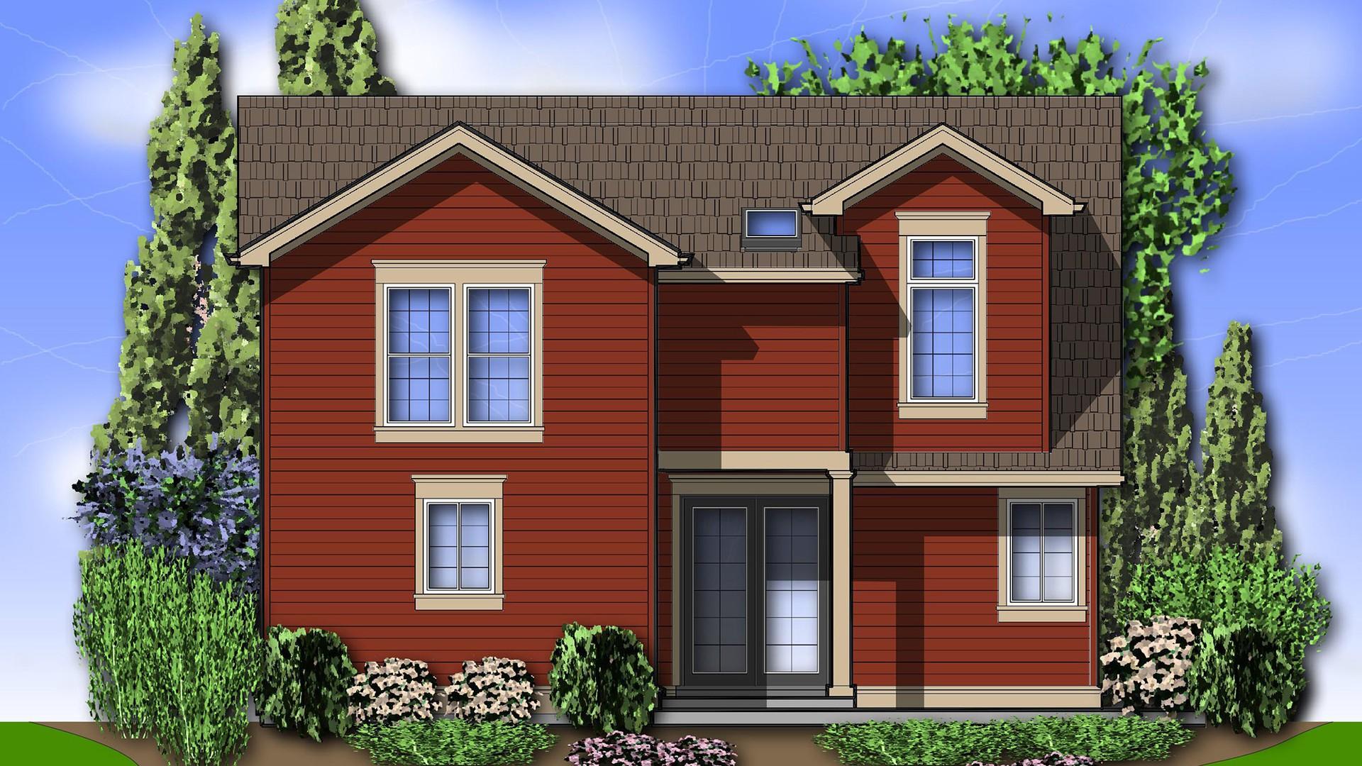 Cape cod house plan 22139 the laurel 2859 sqft 4 beds 3 for Laurel house