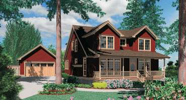 Versatile House Plan The Laurel: Plan 22139  | Finding Versatile Home Plans that Adapt to Your Needs