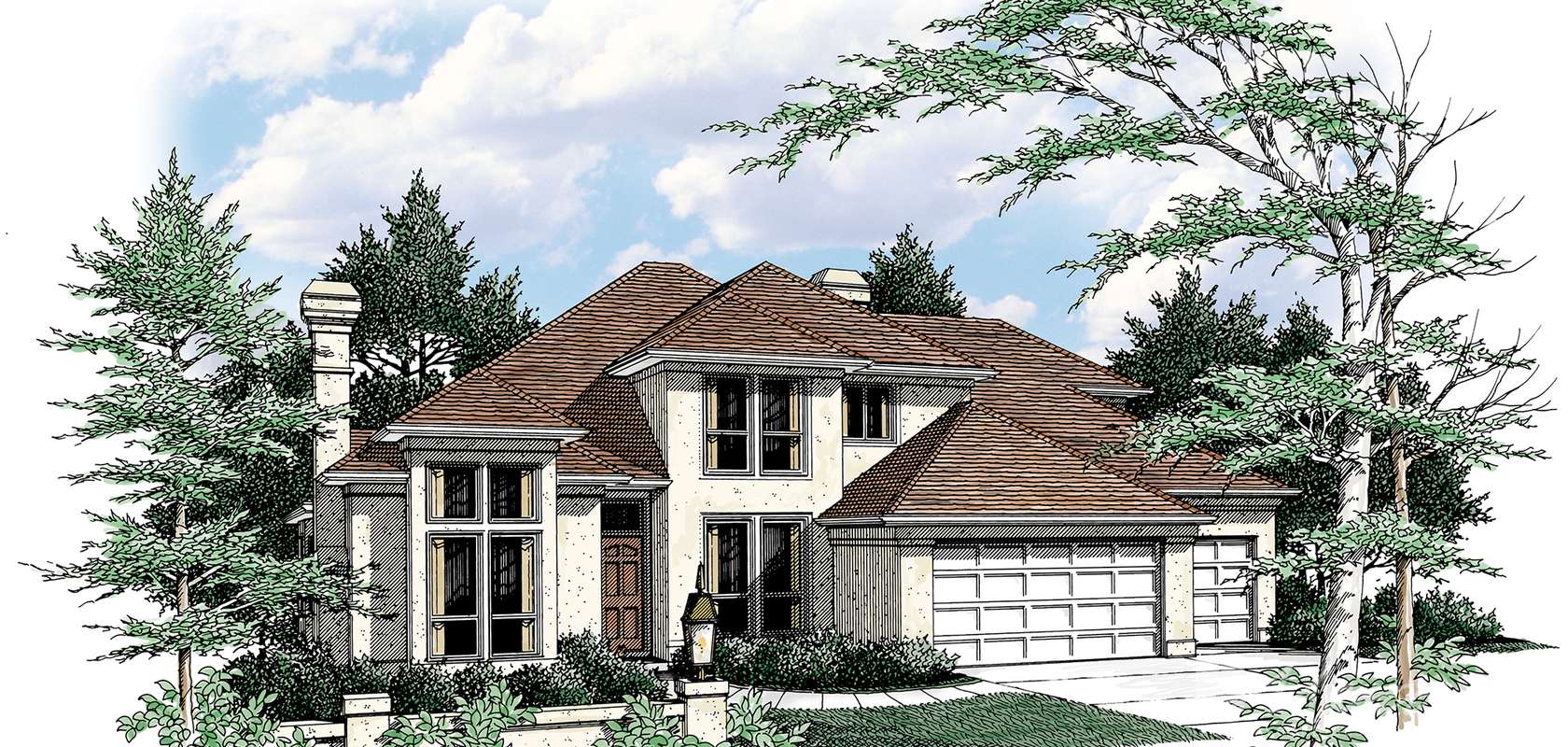 Mascord House Plan 2213DC: The Duson
