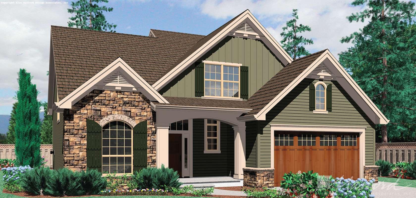 Mascord House Plan B22140: The Landon