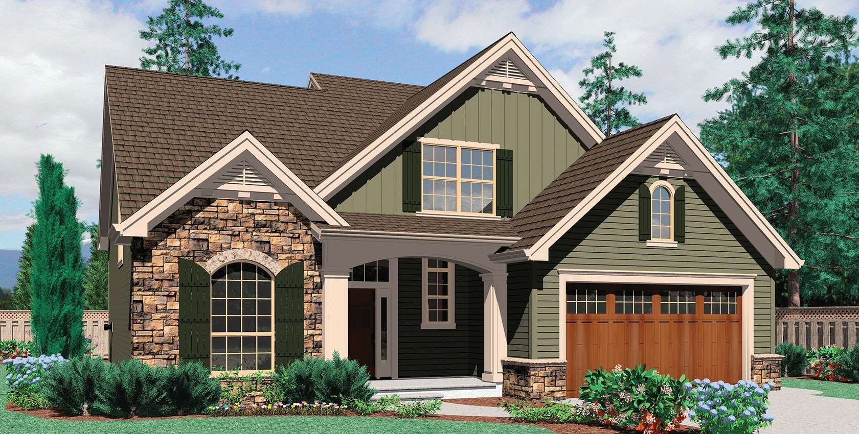 Mascord house plan 22140 the landon for The landon house