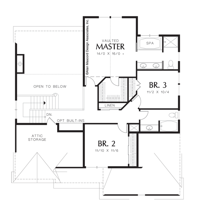 House plan details plan 22140 the landon for Landon homes floor plans