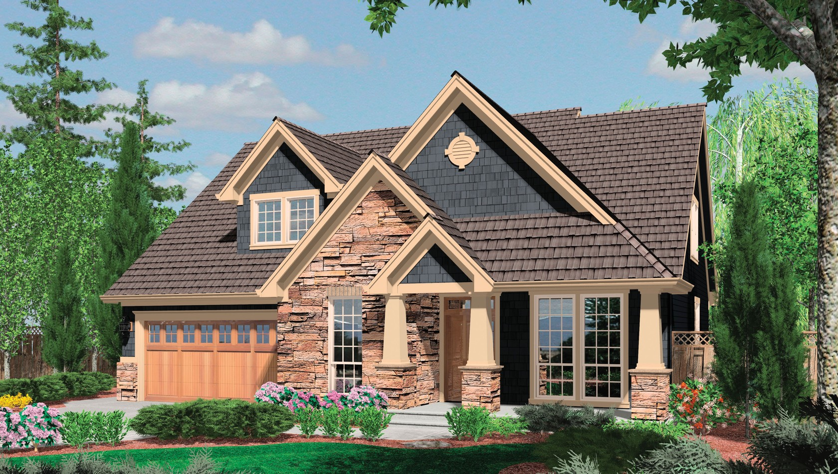 Main image for house plan 22145: The Ackley