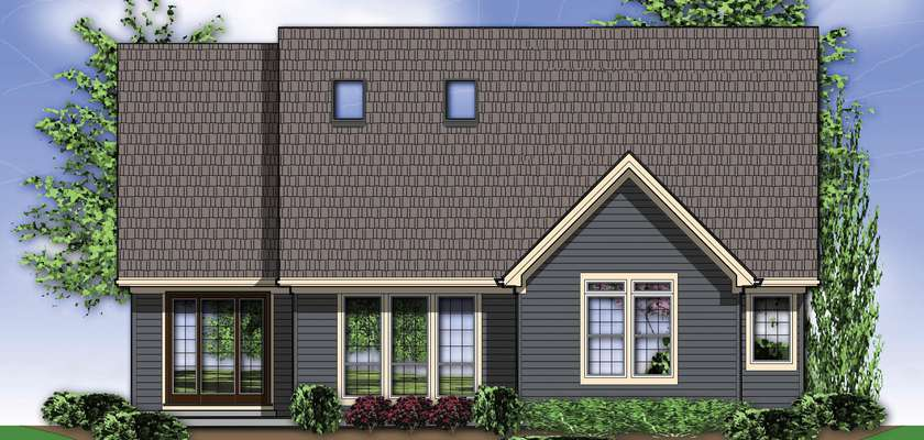 Mascord House Plan 22145: The Ackley