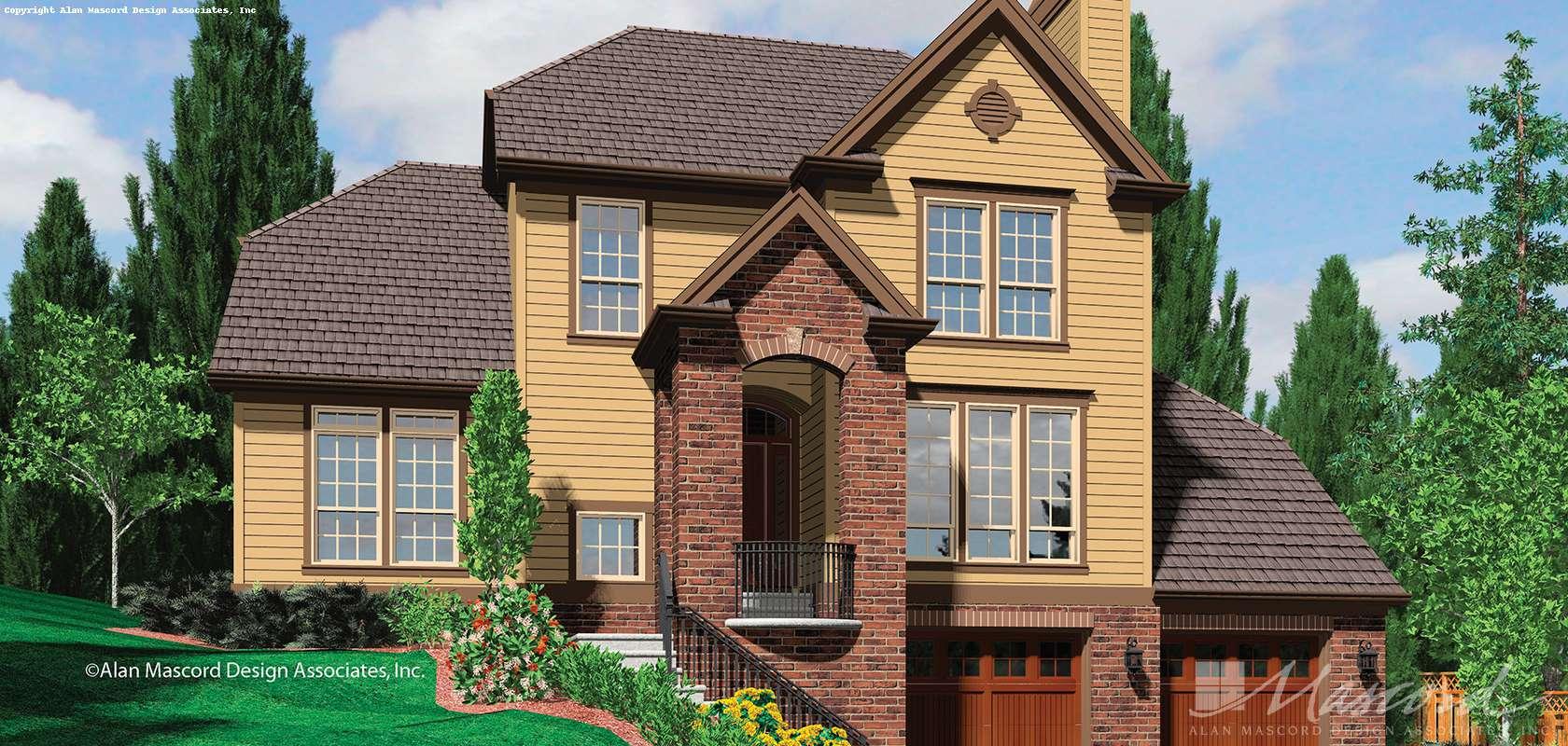 Mascord House Plan 22147A: The Kingsley
