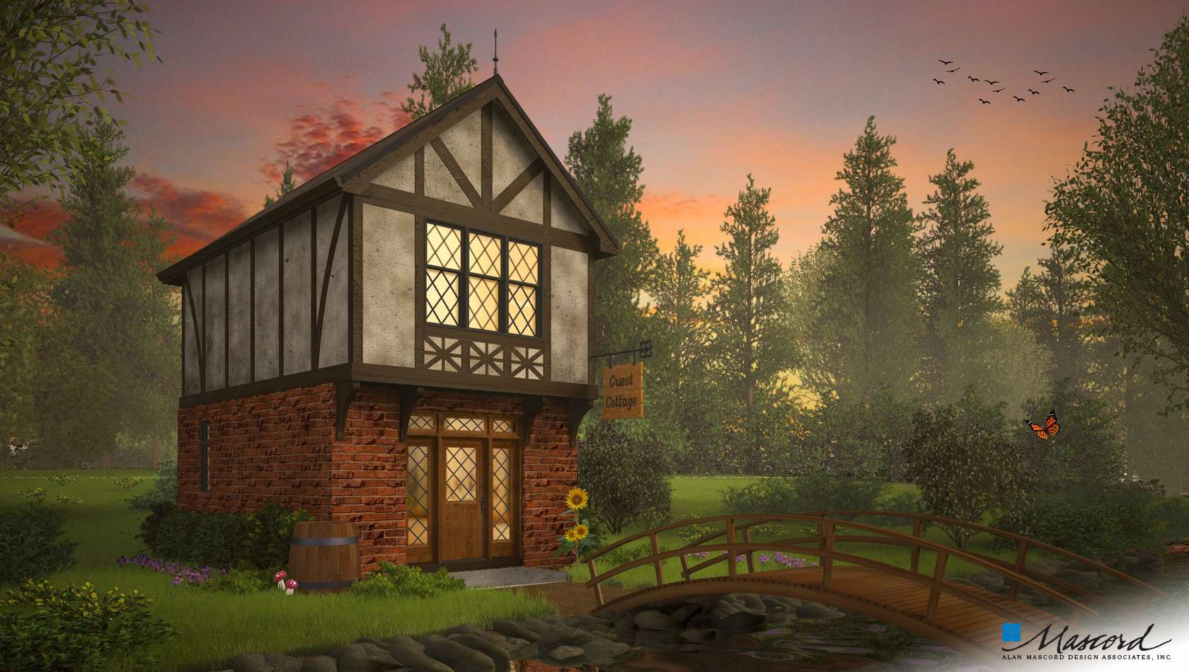 Main image for house plan 21150A: The King's Hollow
