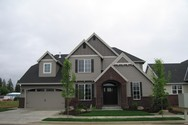 Front Exterior of Mascord House Plan 22151A - The Dearborn